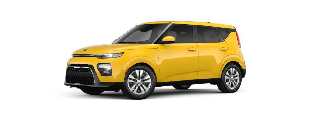 2020 Kia Soul Solar Yellow