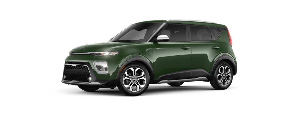 2020 Kia Soul Undercover Green