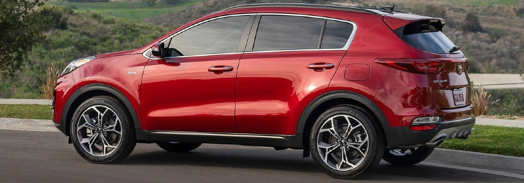 2020 Kia Sportage Storage and Seating