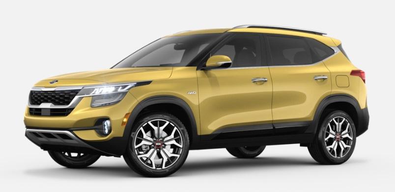 2021 Kia Seltos Starbright Yellow