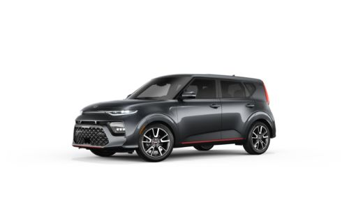 2021 Kia Soul Gravity Gray