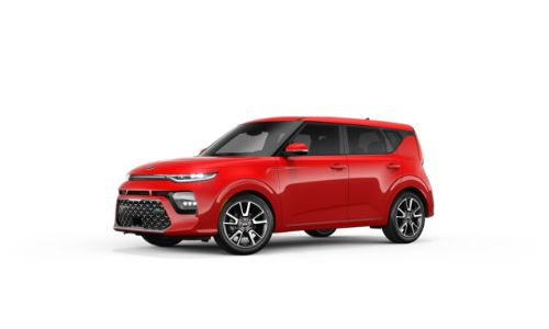 2021 Kia Soul Inferno Red