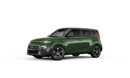 2021 Kia Soul Undercover Green