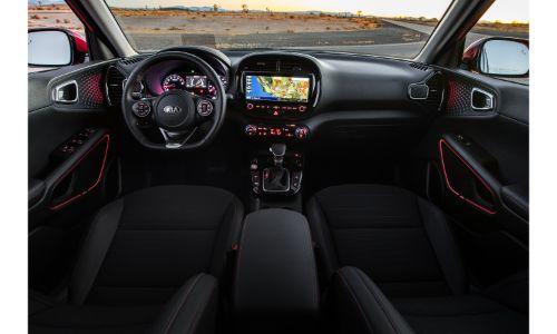 2021 Kia Soul interior black screen on