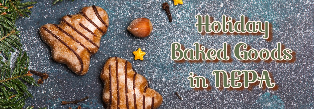 holiday baked goods in NEPA cookie banner