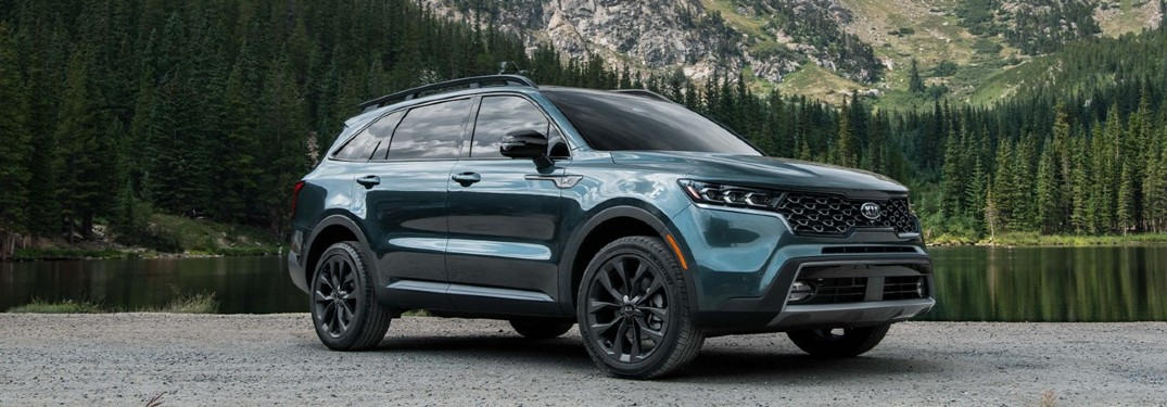 What Color Options Does the 2021 Kia Sorento Come In?