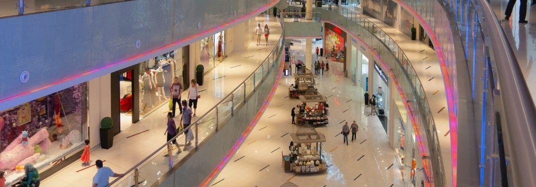 Shopping Mall Scene