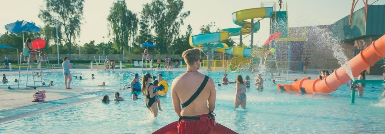 Waterpark scene