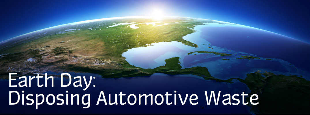 How Do I Properly Dispose Automotive Wastes