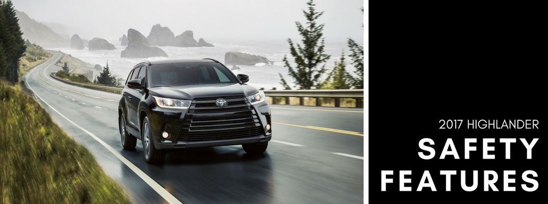 2017 Toyota Highlander safety features