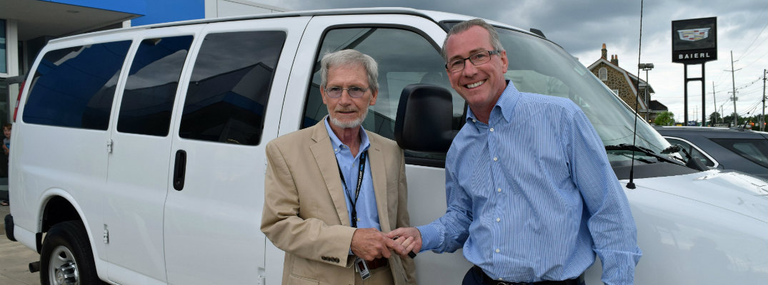 Baierl Automotive donates 12-passenger van to Boys and Girls Clubs of Western PA