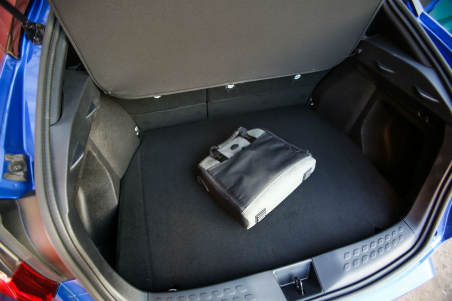 There Is More Than 34 Cubic Feet Of Cargo Space In The 2018 Toyota C-  R
