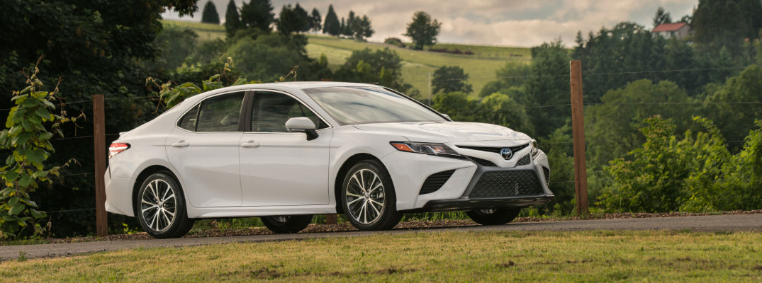 Changes for the 2018 Toyota Camry