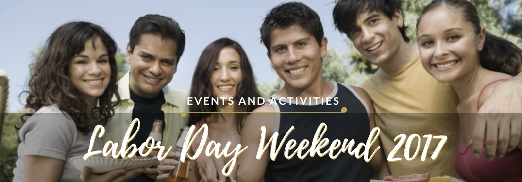 Labor Day Weekend events and activities