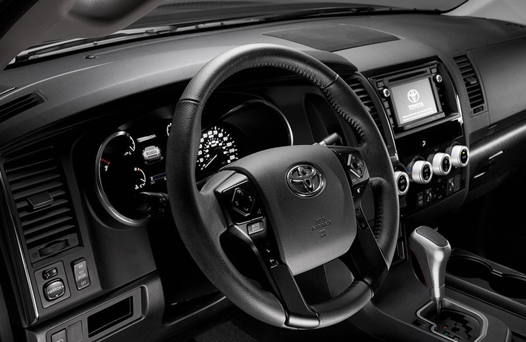 2018 Toyota Sequoia Dashboard Steering Wheel
