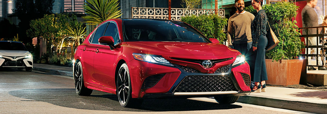 What colors does the Camry have?