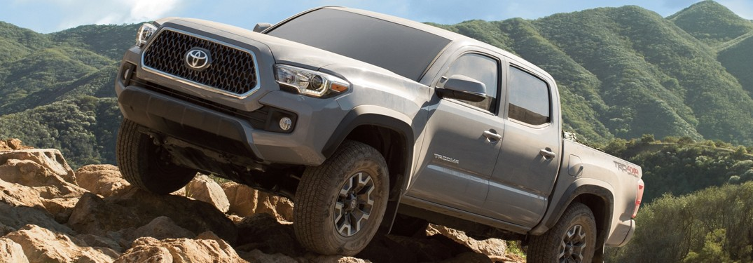 2019 Toyota Tacoma Weight And Capacities