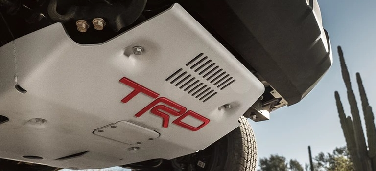 2019 Toyota Tacoma TRD Pro front skid plating