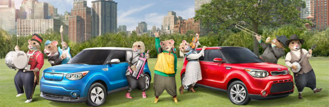the history of kia hamster commercials