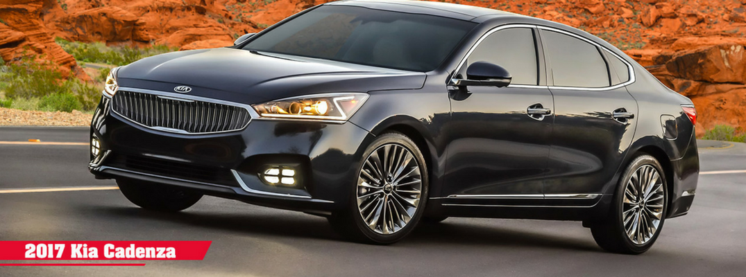 2017 Kia Cadenza Color Options and Performance Specs
