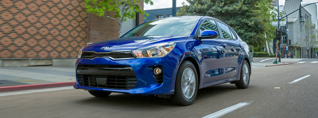2018 Kia Rio Fuel Economy And Driving Range
