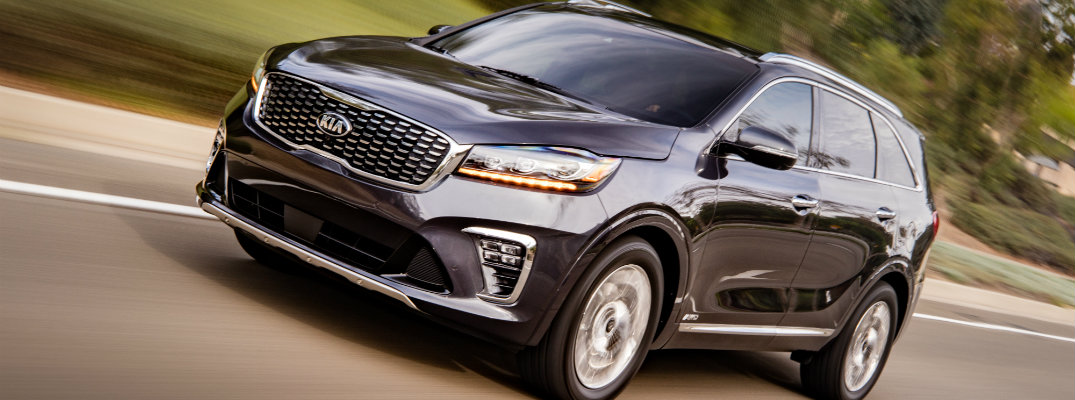 2019 Kia Sorento cruising on a road