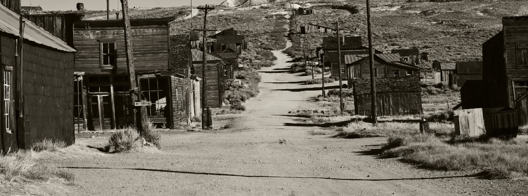 Ghost Town in the Western United States