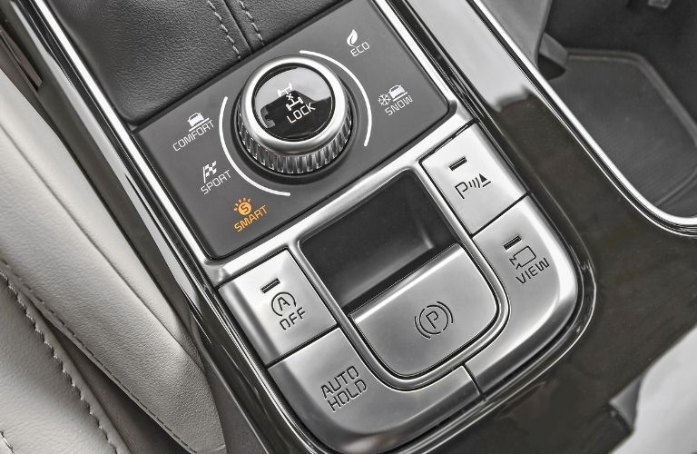 2022 Kia Telluride drive modes and features