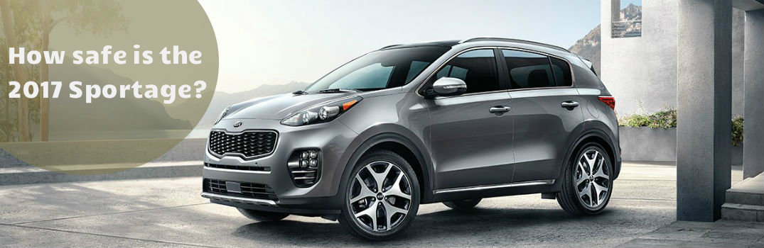 How safe is the 2017 Sportage?
