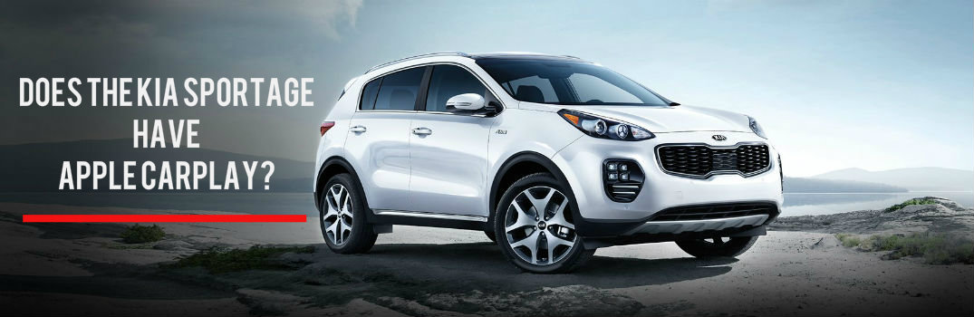 Does the Kia Sportage have Apple Carplay?