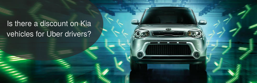 Is there a discount on Kia vehicles for Uber drivers?