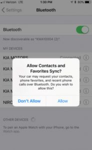 gateway kia quakertown bluetooth