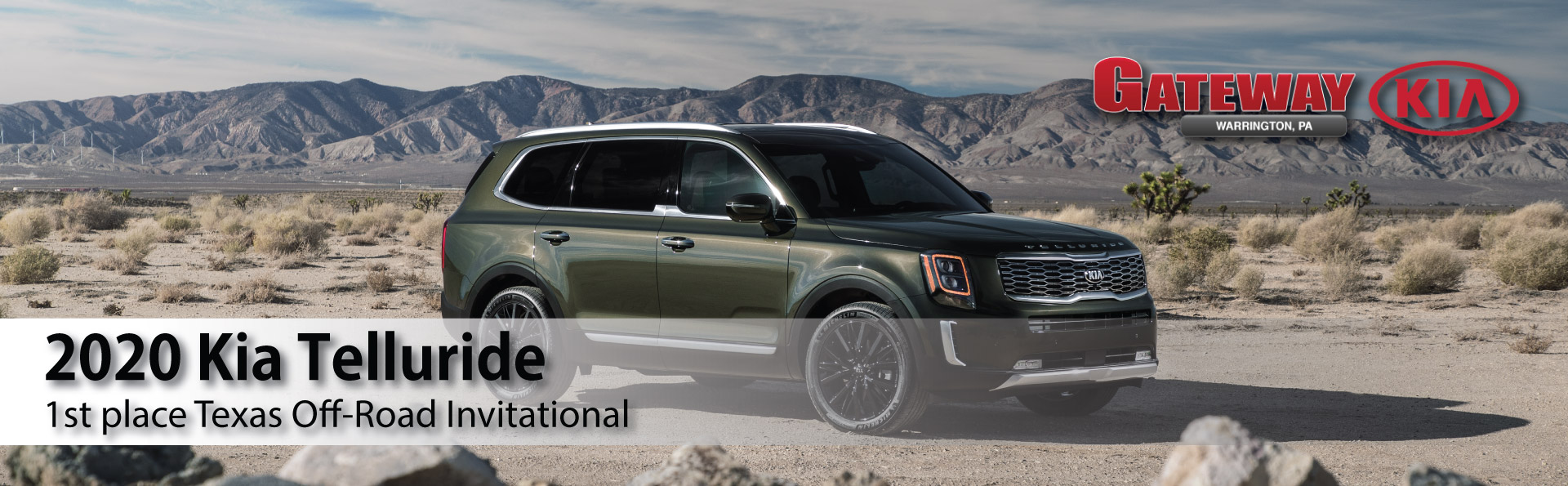 2020 Kia Telluride: Takes 1st Texas Off-Road Invitational