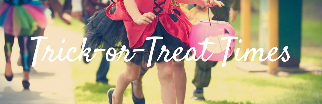 2016 Trick or Treat Times Madison WI