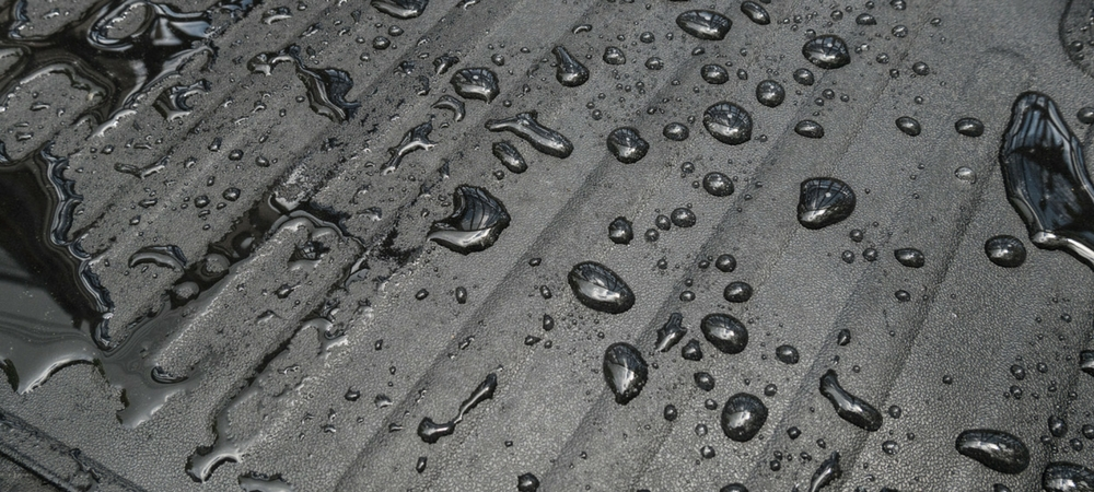 A close-up of all-weather floor mats in a blog post about car gifts