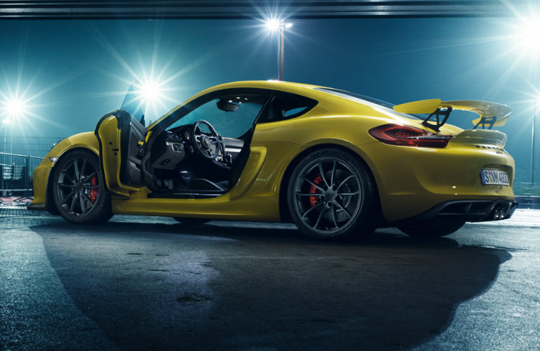 What are the best exotic cars to sell? » yellow-Porsche-Cayman-GT4-parked-at-night-with-doors-open_o & yellow-Porsche-Cayman-GT4-parked-at-night-with-doors-open_o ...