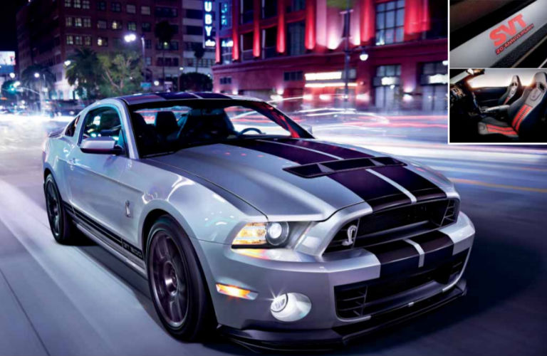 ford mustang shelby® gt500® engine specs and performance features