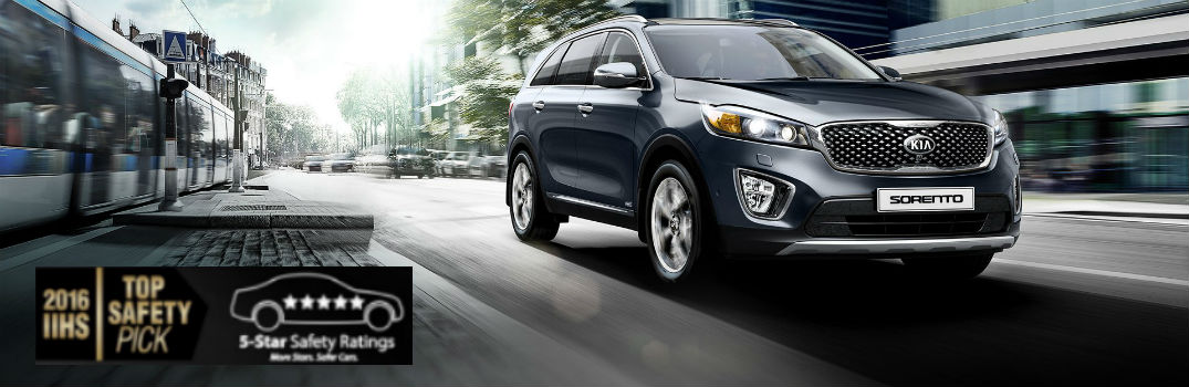 What safety features does the Kia Sorento come with?