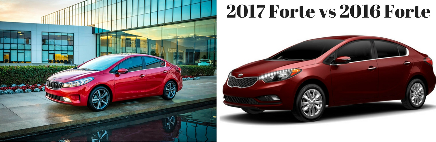What's new with the 2017 Kia Forte?