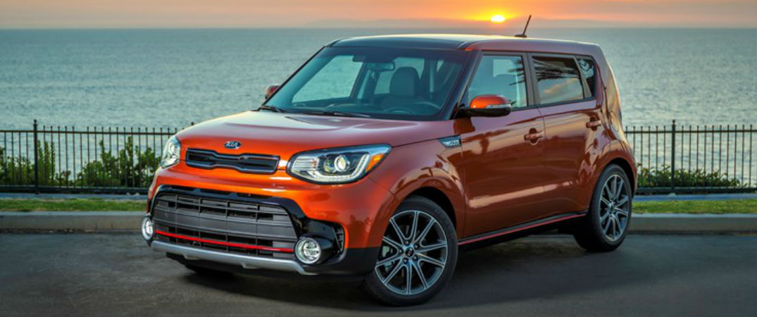 2017 Kia Soul Exclaim in Orange
