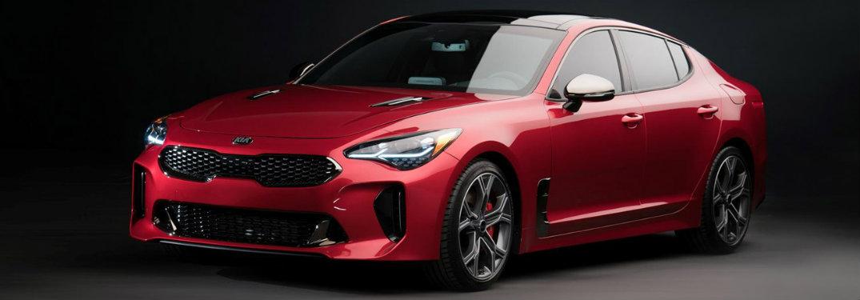 2018 Kia Stinger red exterior front