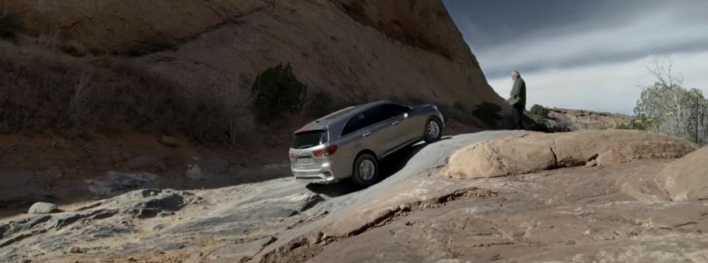 2019 Kia Sorento on Hell's Gate in Moab, Utah