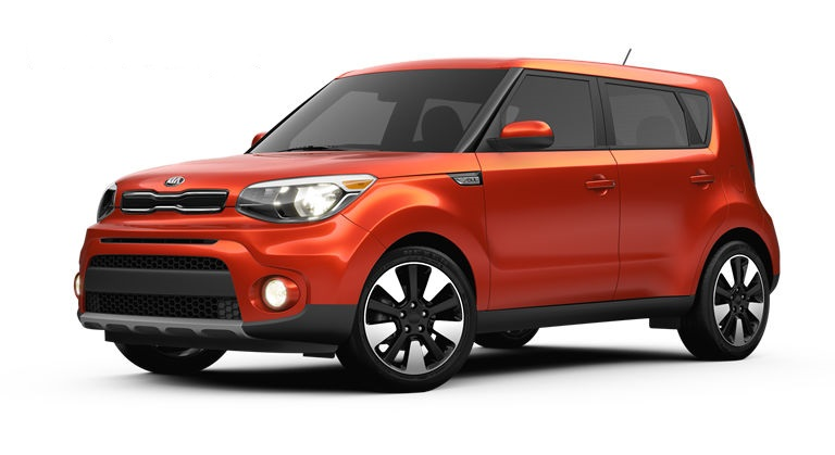 2018 Kia Soul In Wild Orange