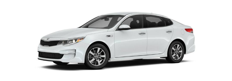 2018-Kia-Optima-LX-Turbo-side-profile-in-white