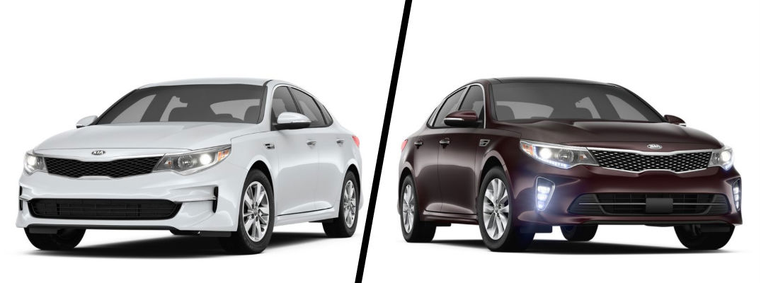 2018 Kia Optima LX vs. EX
