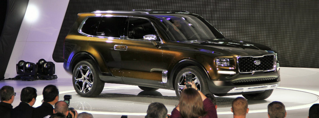 2020 Kia Telluride at the Detroit Auto Show