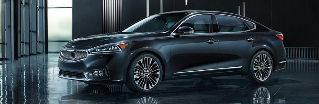 2019 Kia Cadenza in a modern showroom