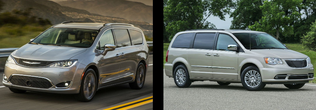 2017 chrysler pacifica vs 2016 chrysler town and country. Black Bedroom Furniture Sets. Home Design Ideas