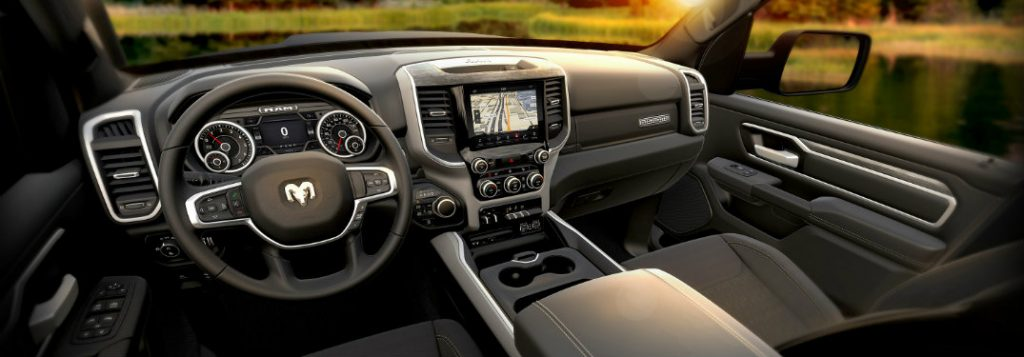 Can I get a 12-inch Uconnect touchscreen in a Dodge vehicle?