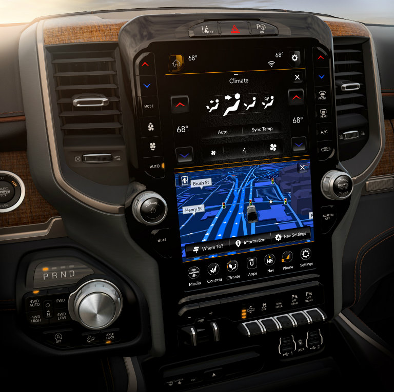 Can I Get A 12 Inch Uconnect Touchscreen In A Dodge Vehicle